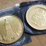 Молдаванин пытался контрабандой перевезти через российскую границу золотые медали