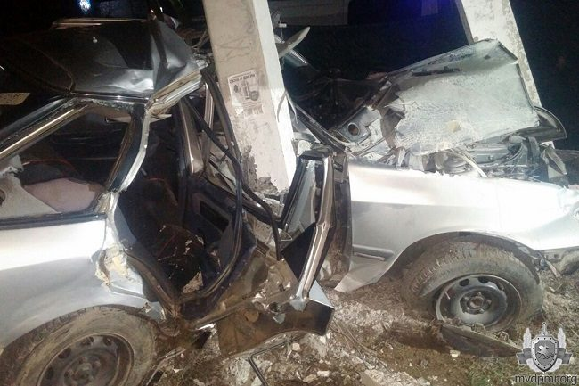 Серьёзное ДТП в Приднестровье: один человек погиб, другой – в реанимации (ФОТО)