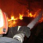 Пожар на улице Чуфля: загорелся заброшенный дом