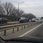 Авария на трассе Кишинев-Бельцы: госпитализирована женщина (ФОТО)