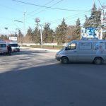 """""""Скорая"""" стала участницей ДТП в Бельцах (ФОТО)"""