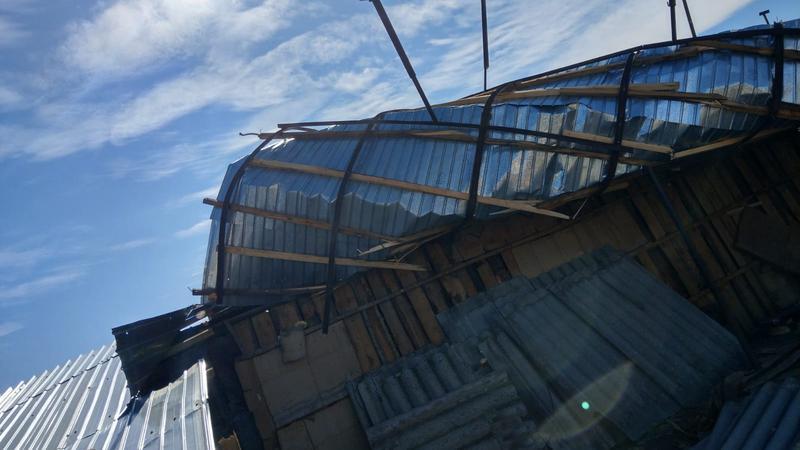 Последствия непогоды: сильный ветер нанёс ущерб ряду населённых пунктов страны