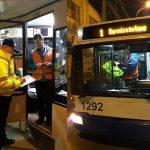 Сотрудники дорожной полиции проверили столичный троллейбусный парк (ВИДЕО)
