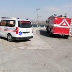 В Дубоссарах ветер повалил полицейский вагончик: два человека - в больнице (ФОТО)