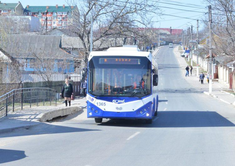 На маршруты в Кишиневе выйдут еще несколько новых троллейбусов