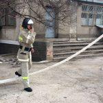 В Слободзее прошли учения по эвакуации и тушению пожара (ФОТО)