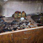 В результате пожара в Бендерах пострадала пенсионерка (ФОТО)