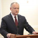Додон: Уверен, что по результатам досрочных выборов в Молдове будет такое правительство, которое будет вести стратегическое партнерство с Россией