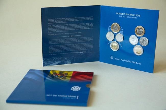 Национальный банк Молдовы вводит в обращение набор монет в нумизматических целях (ФОТО)
