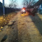 Трагедия в Штефан-Водэ: нетрезвый мотоциклист врезался в кучу дров и погиб