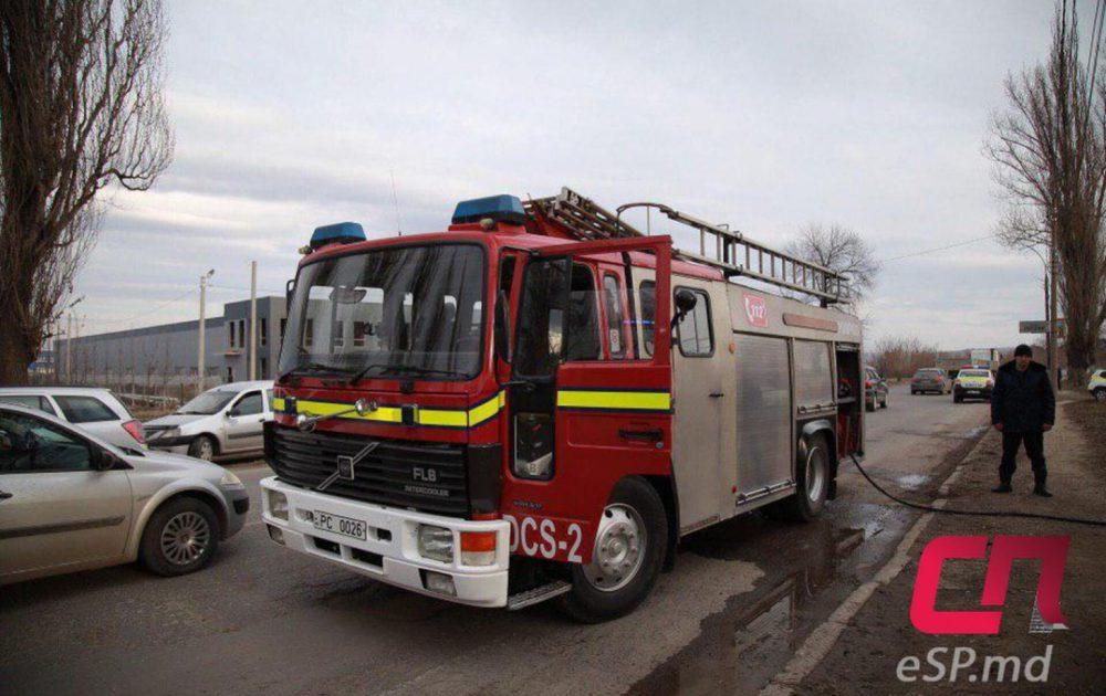В Бельцах при пожаре погибла пенсионерка (ФОТО)