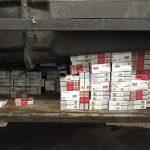 Водитель из Молдовы вёз в Италию 30 тысяч контрабандных сигарет (ФОТО)
