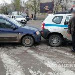 В Комрате в аварию попал автомобиль частного охранного агентства