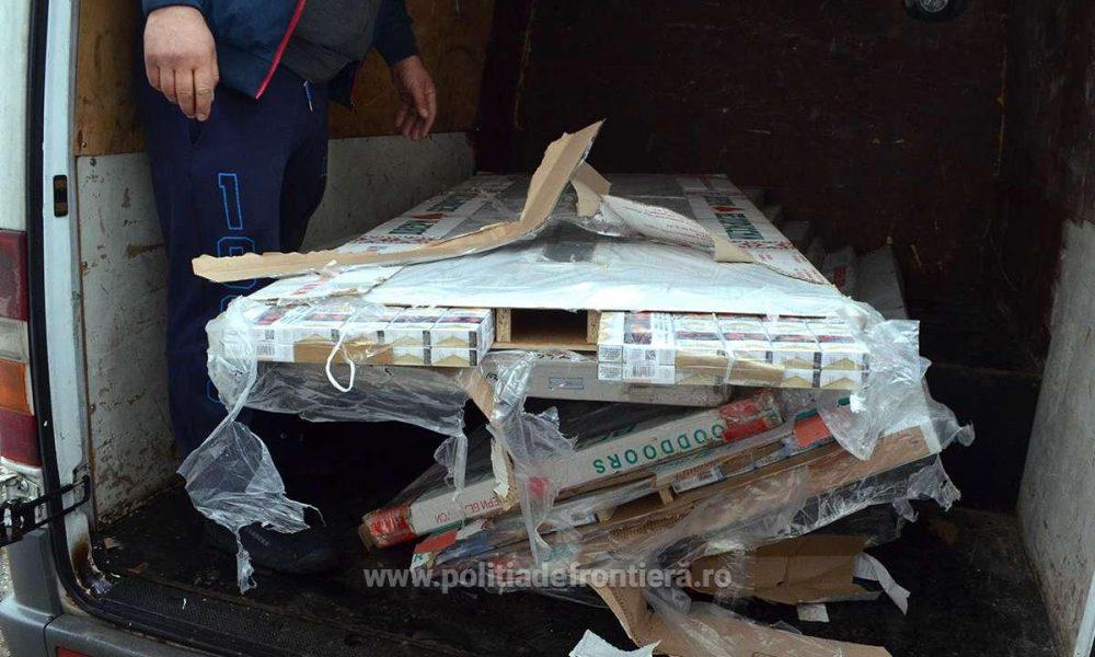Изобретательных молдаван с контрабандой сигарет задержали на румынской таможне (ФОТО)
