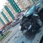 В серьезной аварии на Чеканах пострадали трое детей
