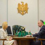 Додон обсудил предстоящие выборы башкана Гагаузии с Влах (ВИДЕО, ФОТО)
