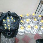 Более 90 литров этилового спирта без документов обнаружили патрульные в автомобиле нарушившего ПДД водителя (ФОТО)