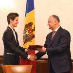Молдаванин, победивший на Кубке мира по игре на аккордеоне, получил почетный диплом президента (ВИДЕО, ФОТО)