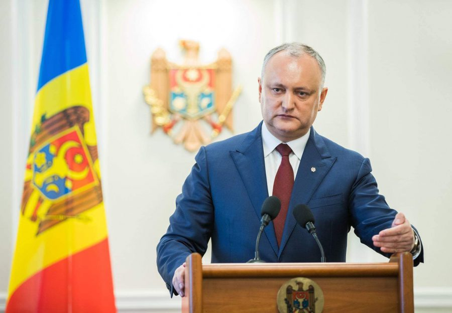 Додон: Победить узурпаторов власти народу Молдовы помогли международные партнеры