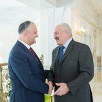 Додон встретился с Лукашенко в Минске (ФОТО, ВИДЕО)