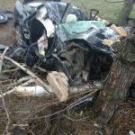 От машины почти ничего не осталось: в страшной аварии в Дрокии погиб человек (ФОТО)