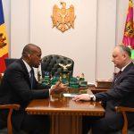 Додон провел рабочую встречу с послом США в РМ (ФОТО, ВИДЕО)