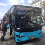 Кишиневский автобусный парк получил последние 6 новых автобусов