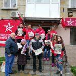«Так держать!»: Социалисты не прекращают работать на местах (ФОТО)