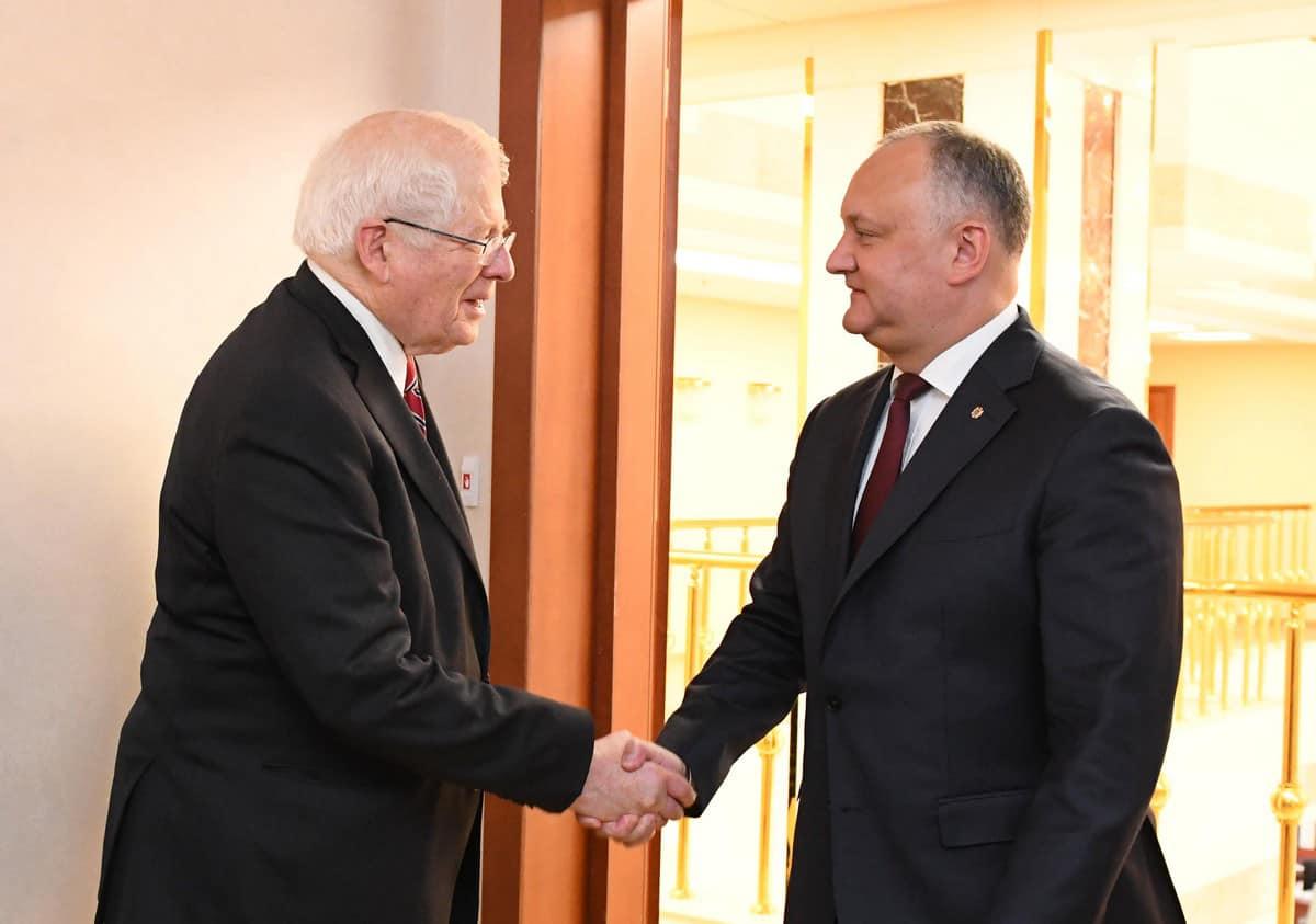 Додон провел встречу с делегацией конгрессменов США (ФОТО, ВИДЕО)