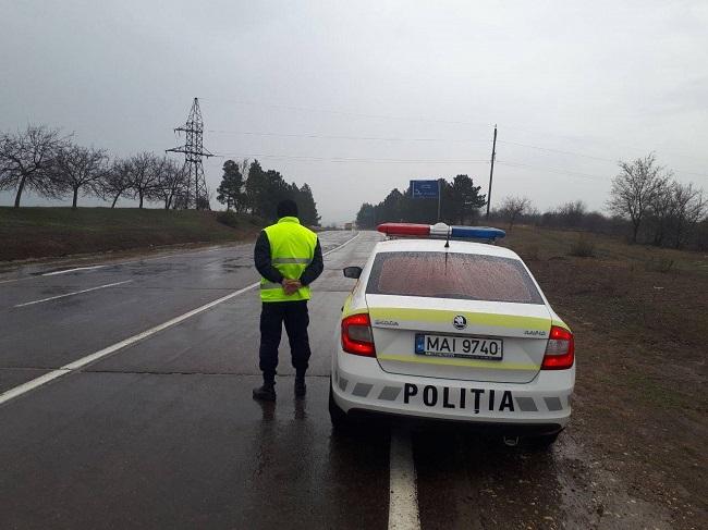 НИП: Дорожное движение на трассах страны может быть опасным из-за дождя