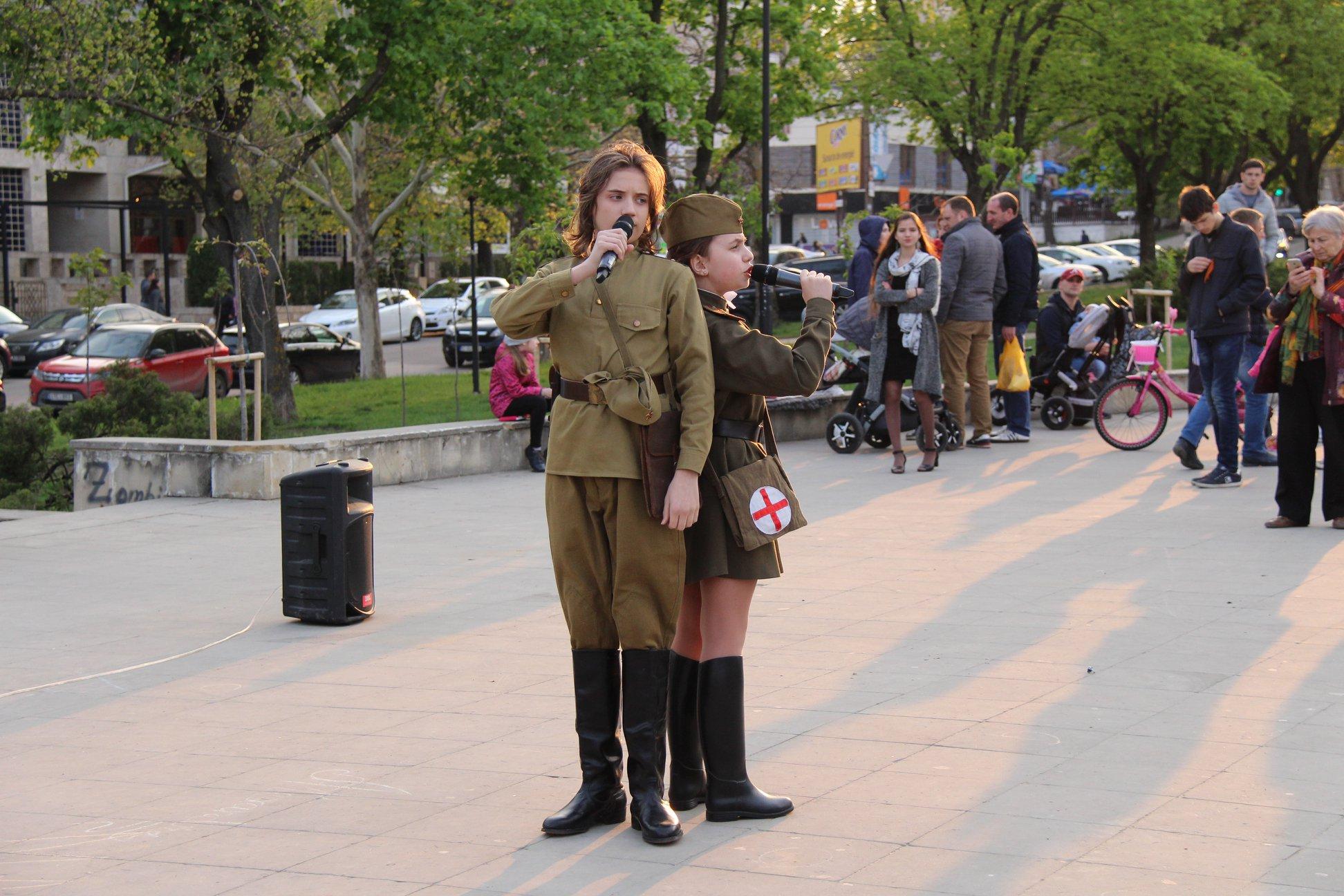 Вечер военно-патриотической песни прошел в Кишиневе (ФОТО)