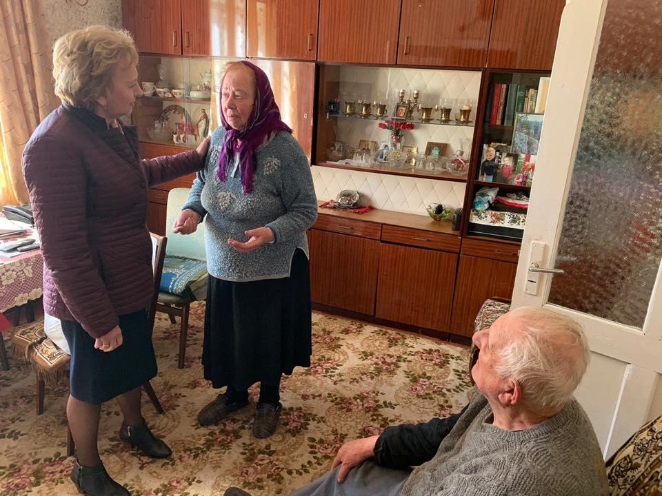 Зинаида Гречаный встретилась с жителями Липкан (ФОТО)