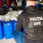 Полиция изъяла партию контрабандного этилового спирта на 5 миллионов леев (ФОТО, ВИДЕО)