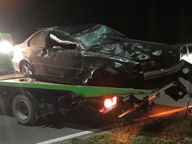 Пьяный водитель и его пассажир госпитализированы после серьёзной аварии с участием такси (ФОТО)