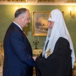 Патриарх Кирилл выразил признательность Игорю Додону за его внимание к жизни молдавской Церкви
