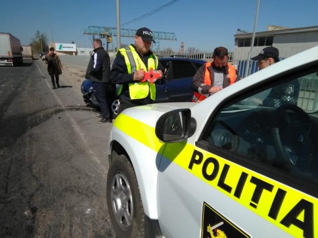 Серьёзное ДТП в Сынджере: столкнулись легковушка и автоцистерна (ФОТО, ВИДЕО)