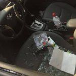 """""""Сюрприз"""" для автовладелицы: пока она спала, воры перевернули вверх дном её машину (ФОТО)"""