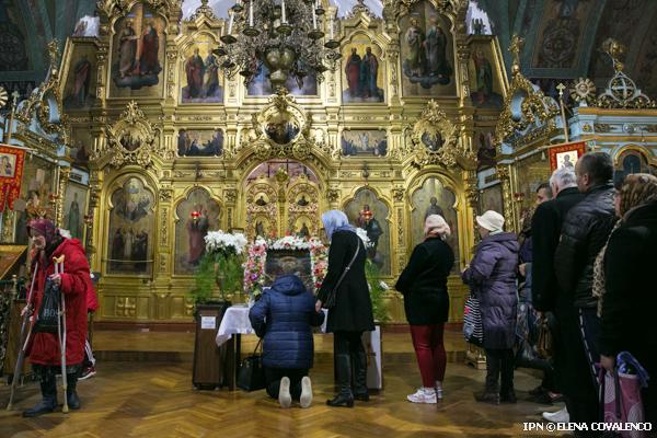 В монастырь Чуфля привезли чудотворную икону Пресвятой Богородицы «Одигитрия Байтальская»