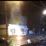 Прошлой ночью на Ботанике загорелся автомобиль