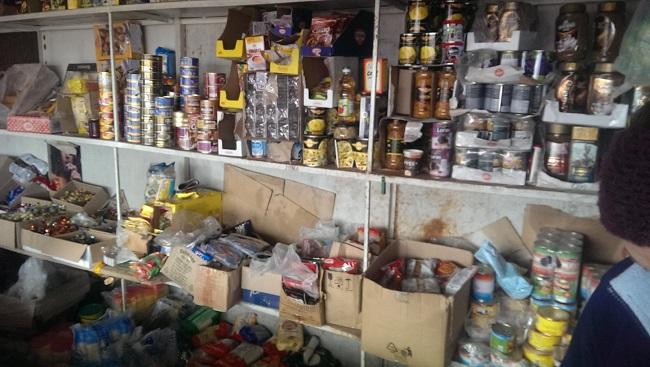 Более 20 кг продуктов питания было уничтожено в результате проверок торговых точек в Унгенах (ФОТО)