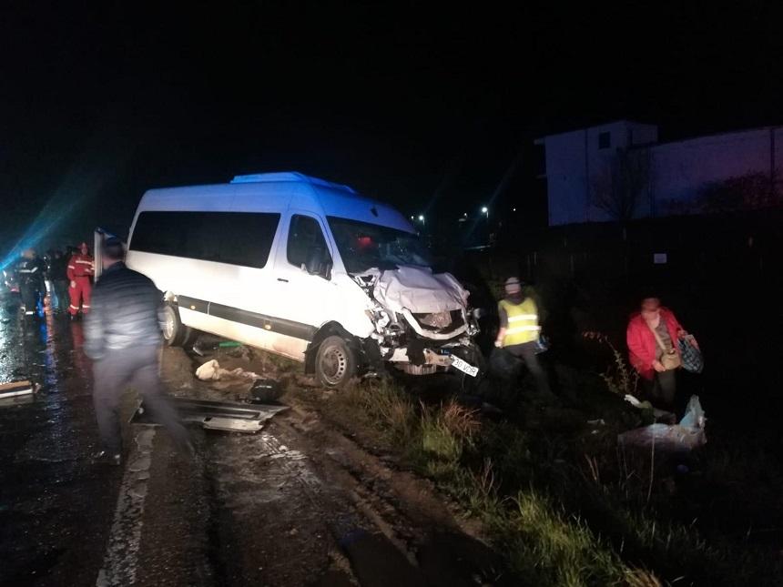 Минимум один гражданин Молдовы пострадал вследствие серьёзного ДТП в Румынии (ФОТО)
