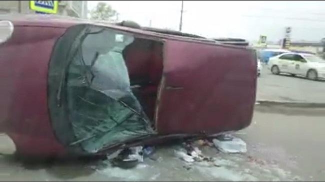 Двое мужчин были доставлены в тяжёлом состоянии в больницу после серьёзного ДТП в столице (ФОТО, ВИДЕО)