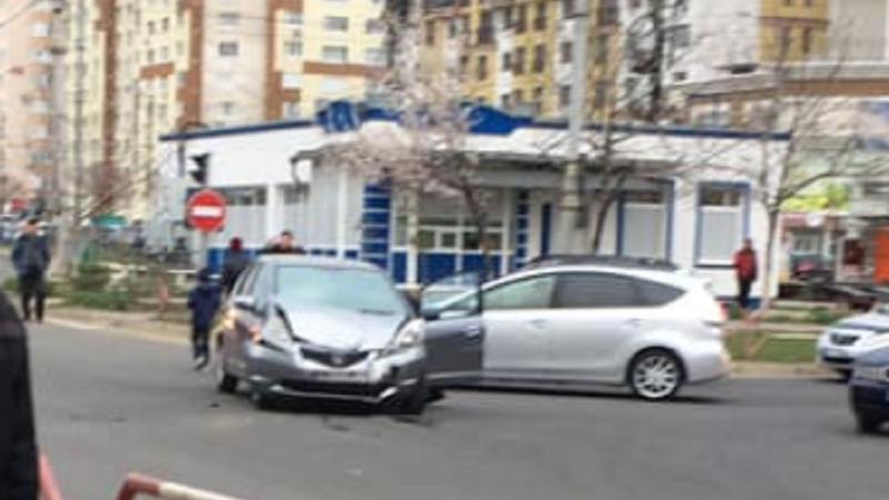 ДТП на Чеканах: столкнулись две иномарки (ФОТО)