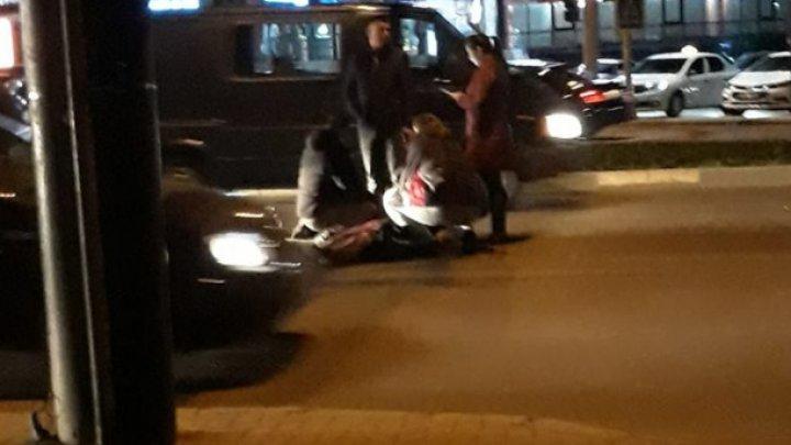 В столице водитель сбил переходившего в неположенном месте пешехода