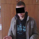 Полиция задержала рецидивиста, ограбившего уличного прохожего (ВИДЕО)