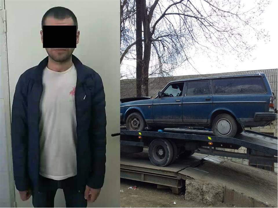 Столичные полицейские задержали угонщика-рецидивиста (ВИДЕО)