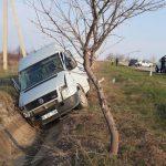 В Сынжерей в результате ДТП пострадали три человека: у водителя микроавтобуса отказали тормоза