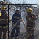 В Тирасполе пожар в сарае едва не уничтожил жилой дом (ФОТО)