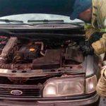 В Дубоссарах во время движения загорелся автомобиль