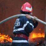Пожар в Ниспоренах: пламенем охватило жилой дом
